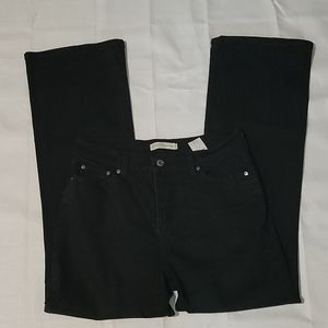 Levi's black 512 perfectly slimming bootcut